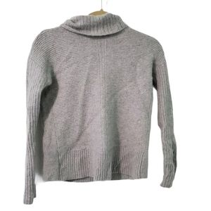 Magaschoni Ribbed Turtleneck Cashmere Sweater S